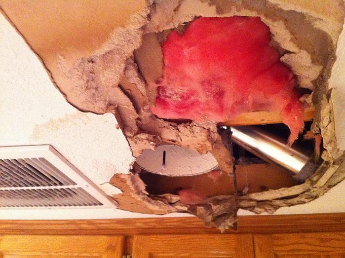 Broken Water Pipes. First ... & Damage Restoration | Broken Water Pipes | Done Right Carpet ...